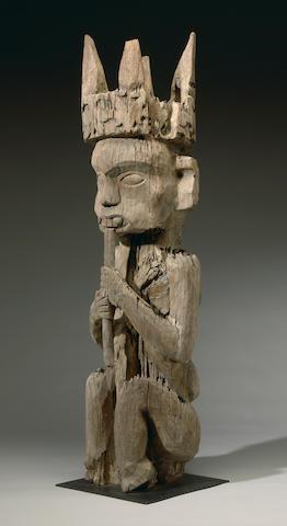 Ngaju Dayak, Ancestral Guardian Figure, Central Kalimantan, Borneo Island