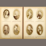 [PHOTOGRAPHS-AUTHORS, ARTISTS & COMPOSERS.]