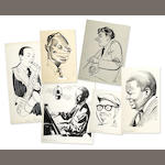 [JAZZ-ORIGINAL ILLUSTRATIONS.] BUEL, HURBERT.