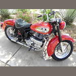 1961 Indian Enfield Chief Frame no. A759 Engine no. PC50335