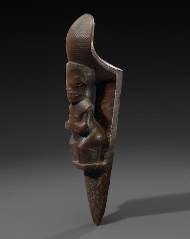Extremely Fine and Rare Stilt Step, tapuva'e, Marquesas Islands