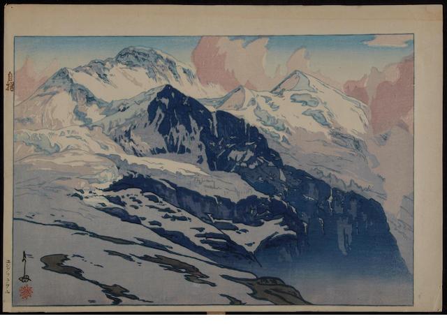 Hiroshi Yoshida: eight prints