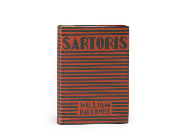 FAULKNER, WILLIAM. 1897-1962. Sartoris. New York: Harcourt, Brace and Company, [1929].