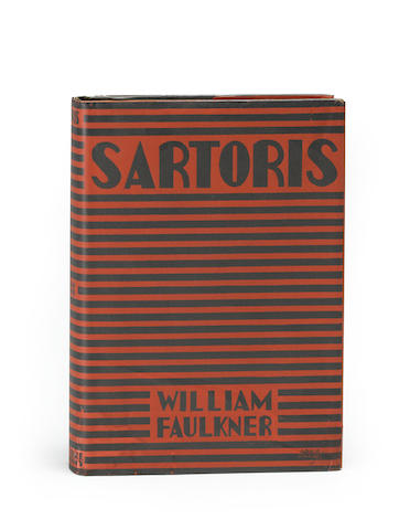 FAULKNER, WILLIAM. 1897-1962. Sartoris. New York: Harcourt, Brace and Company, [1929].