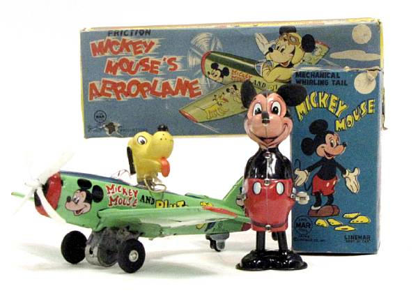Tin Lithographed Toys