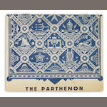 DURRELL, LAWRENCE. 1912-1990. The Parthenon: for T.S. Eliot. [Rhodes: 1944 or 1945.]