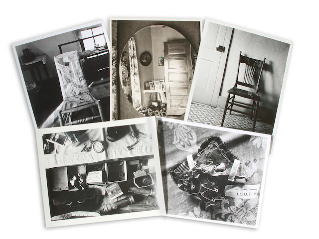 MORRIS, WRIGHT. 1910-1998. 15 photographs, gelatin silver prints, c. 1935-1950,