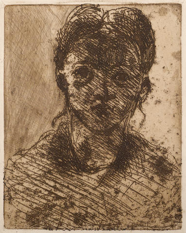 [CÉZANNE, PAUL. 1839-1906.] VOLLARD, AMBROISE. Paul Cézanne. Paris: Gallerie A. Vollard, 1914.
