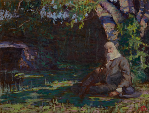 [WHITMAN, WALT. 1819-1892.] WINNER, GLADYS LOGAN.