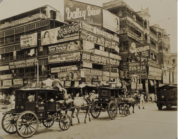 INDIA. WADDELL, CLYDE. A Yank's Memories of Calcutta. [Houston: Waddell, 1946].