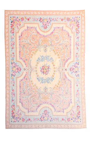 An Aubusson needlework carpet
