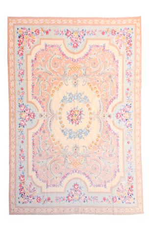 An Aubusson needlework carpet