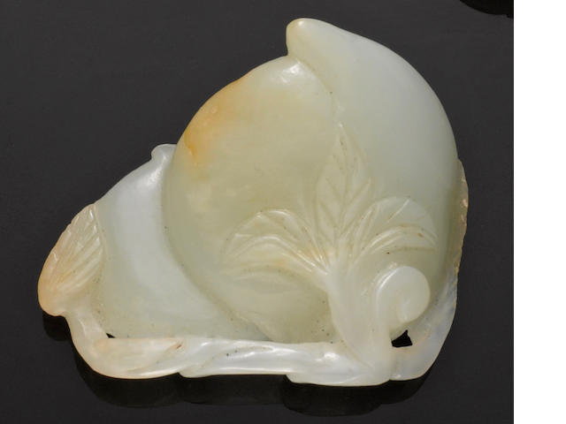 A nephrite peach group