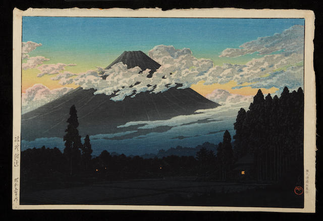 Kawase Hasui (1883-1957)<BR />Four color woodcuts