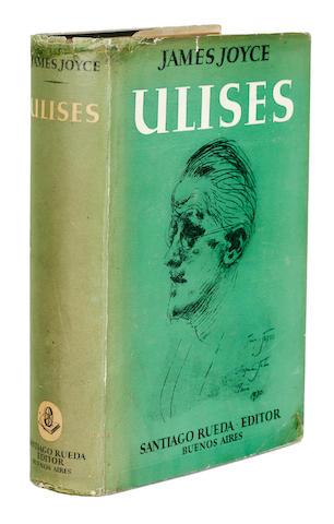 JOYCE, JAMES. 1882-1941. Ulises. Buenos Aires: Santiago Rueda, [July, 1945].