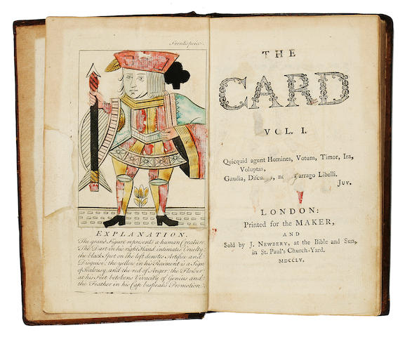 [KIDGELL, JOHN.] The Card. London: Printed for the Maker and sold by J. Newberry, 1755.<BR />