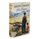 STEINBECK, JOHN. 1902-1968. The Grapes of Wrath. Toronto: Macmillan, [April, 1939].