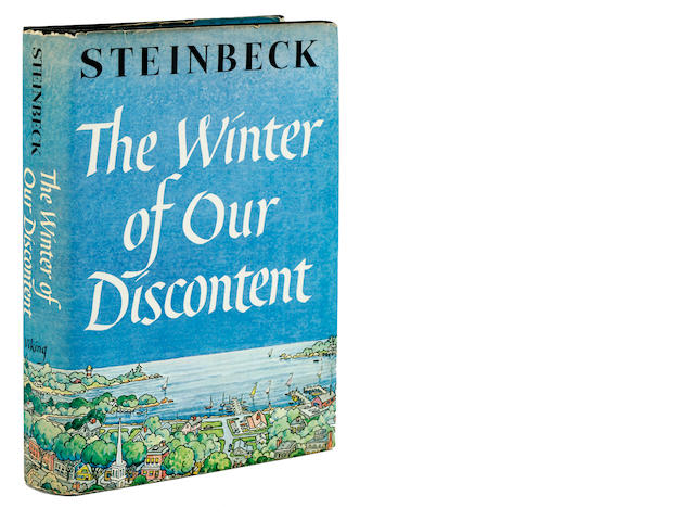 STEINBECK, JOHN. 1902-1968. The Winter of Our Discontent. New York: Viking Press, 1961.
