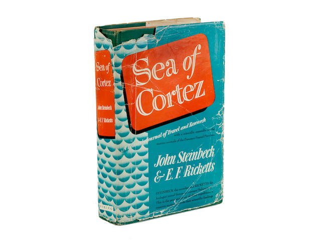 STEINBECK, JOHN & EDWARD F. RICKETTS. Sea of Cortez. A Leisurely Journal of Travel and Research. New York: Viking Press, 1941.<BR />