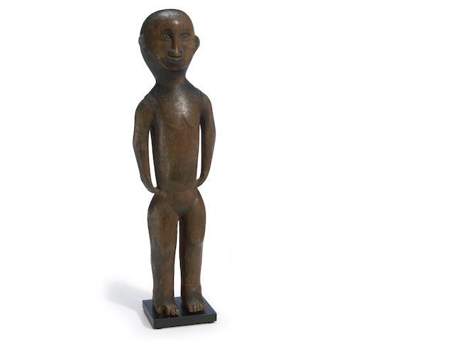 Unusually Large Dayak Figural Charm, Borneo Island