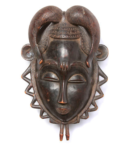 Yaure Mask  Ivory Coast