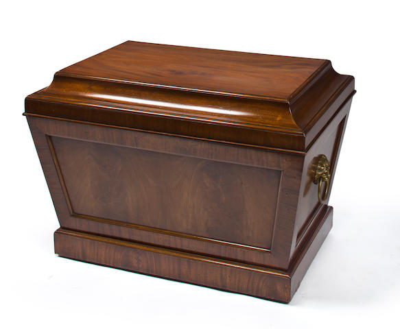 A Regency mahogany cellarette early 19th century