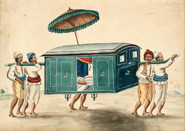 A group of six studies of Indian trades and occupations, Patna