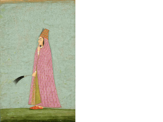 Lady with Flywhisk, Bikaner