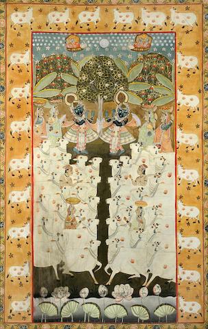 Dance of Krishna (Sri Nathji)