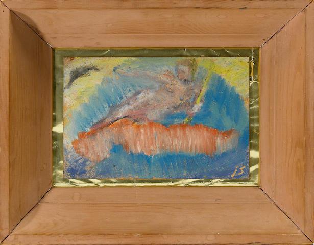 Jess (1923-2004) Aurora, 1953 framed 8 1/2 x 10 3/4in (21.6 x 27.3cm)