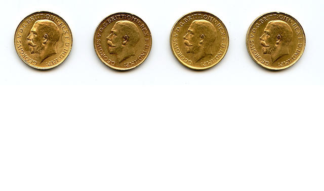 South Africa, George V, Sovereigns, 1925-SA (4)