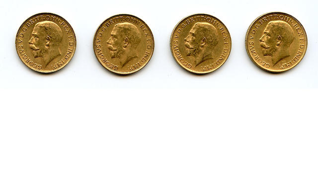 South Africa, George V, Sovereigns, 1926-SA (4)