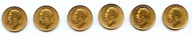South Africa, George V, Sovereigns, 1926-SA (6)