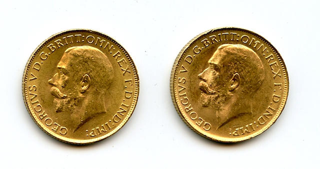 South Africa, George V, Sovereigns, 1927-SA (2)