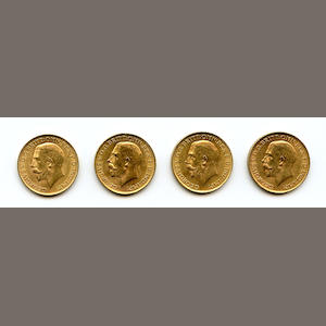 South Africa, George V, Sovereigns, 1927-SA (5)
