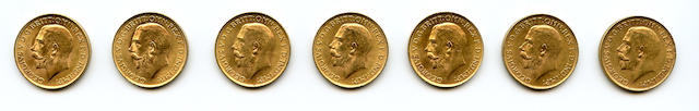 South Africa, George V, Sovereigns, 1927-SA (6)