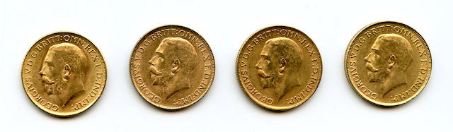 South Africa, George V, Sovereigns, 1928-SA (4)