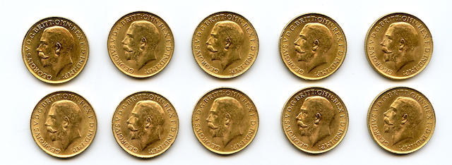 South Africa, George V, Sovereigns, 1928-SA (10)