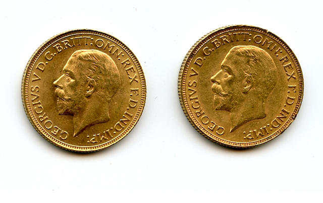 South Africa, George V, Sovereigns, 1929-SA (2)