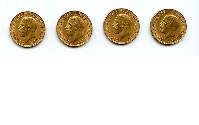 South Africa, George V, Sovereigns, 1929-SA (4)