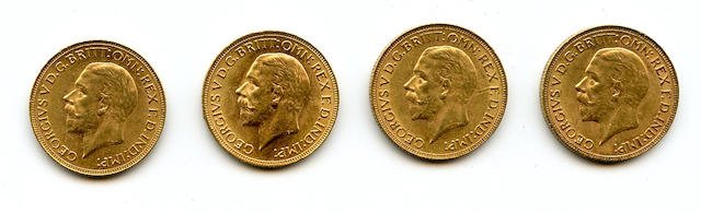 South Africa, George V, Sovereigns, 1931-SA (4)
