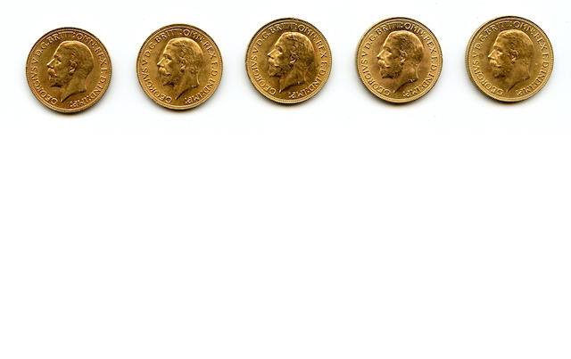 South Africa, George V, Sovereigns, 1931-SA (5)