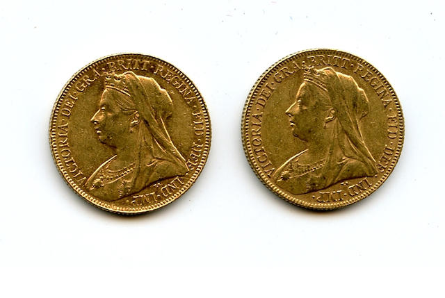 Australia, Victoria, Sovereigns, 1901-P (2)