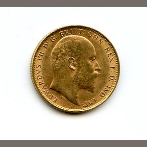 England, Edward VII, Sovereign, 1904