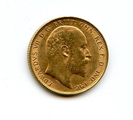 England, Edward VII, Sovereign, 1904