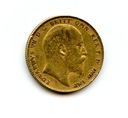 Australia, Edward VII, Sovereign, 1904-P