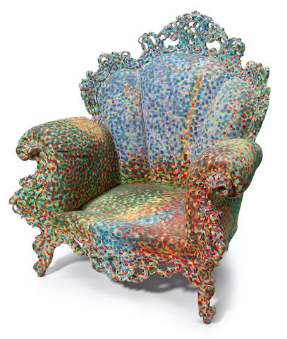 Alessandro Mendini for Studio Alchimia Proust's Armchair, designed 1978