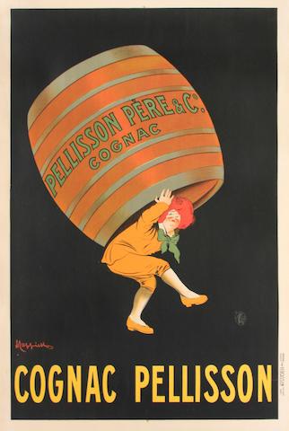Leonetto  Cappiello (Italian, 1875-1942); Cognac Pellisson;