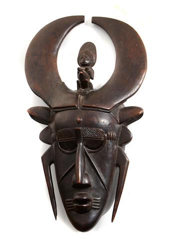 Djimini/Ligbi Mask  Ivory Coast