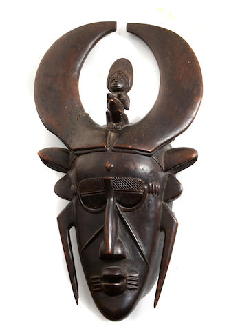 Djimini/Ligbi Mask, Ivory Coast